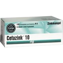 CEFAZINK 10MG